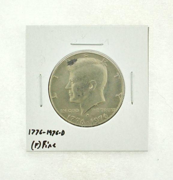 1776-1976-D Kennedy Half Dollar (F) Fine N2-3690-23