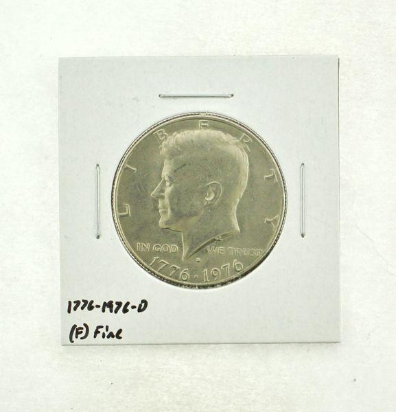 1776-1976-D Kennedy Half Dollar (F) Fine N2-3690-25
