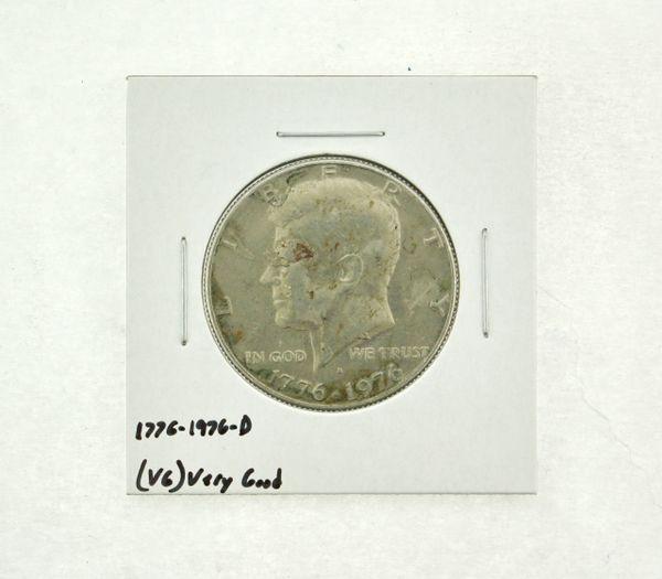 1776-1976-D Kennedy Half Dollar (VG) Very Good N2-3718-1
