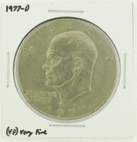 1977-D Eisenhower Dollar RATING: (VF) Very Fine (N2-4198-01)