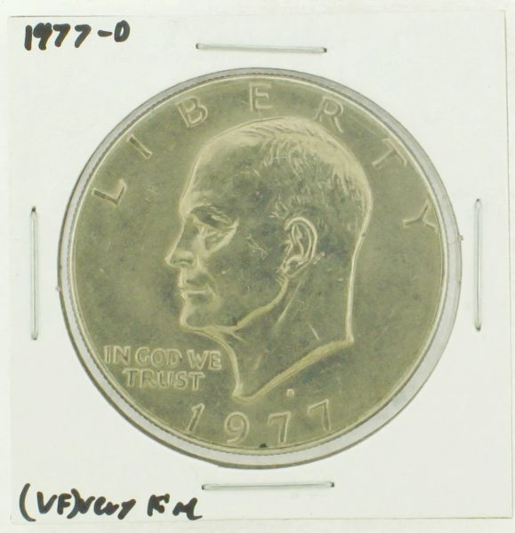 1977-D Eisenhower Dollar RATING: (VF) Very Fine (N2-4198-03)