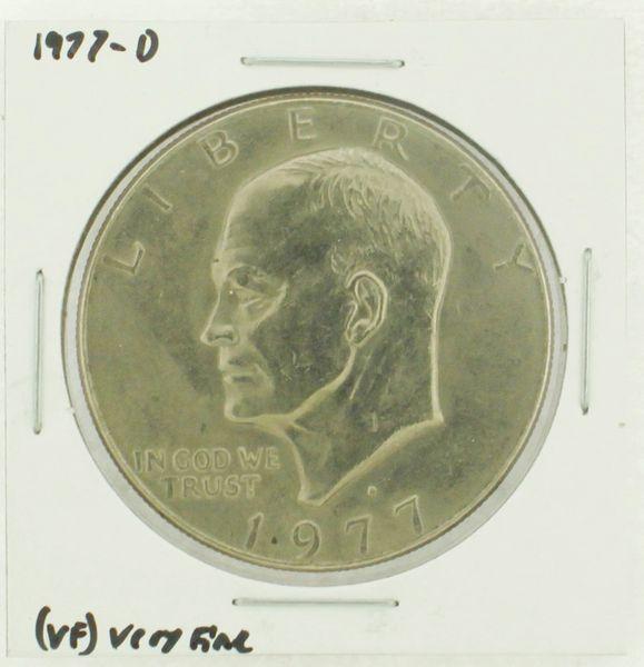 1977-D Eisenhower Dollar RATING: (VF) Very Fine (N2-4198-04)