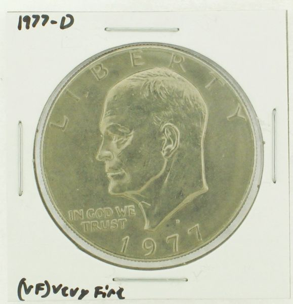 1977-D Eisenhower Dollar RATING: (VF) Very Fine (N2-4198-05)