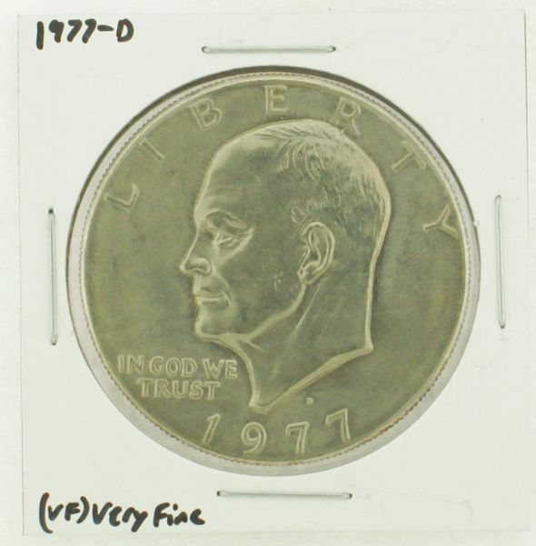 1977-D Eisenhower Dollar RATING: (VF) Very Fine (N2-4198-06)