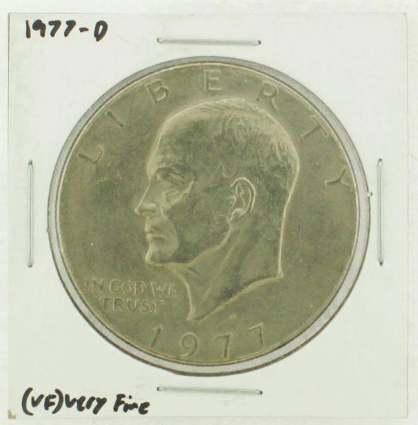 1977-D Eisenhower Dollar RATING: (VF) Very Fine (N2-4198-07)