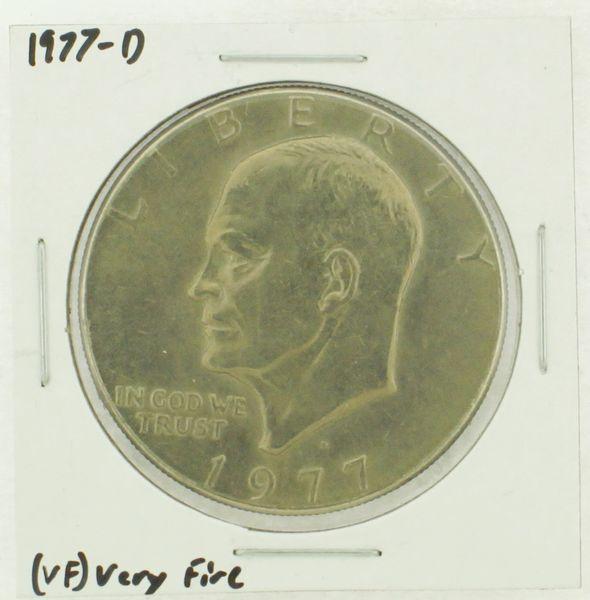 1977-D Eisenhower Dollar RATING: (VF) Very Fine (N2-4198-09)