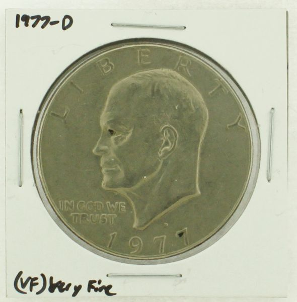 1977-D Eisenhower Dollar RATING: (VF) Very Fine (N2-4198-10)