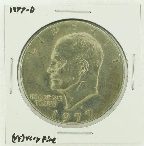 1977-D Eisenhower Dollar RATING: (VF) Very Fine (N2-4198-11)