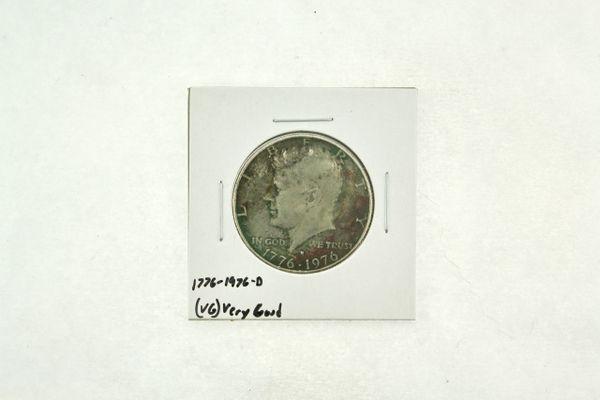 1776-1976-D Kennedy Half Dollar (VG) Very Good N2-3718-2