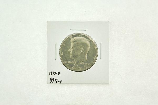 1977-D Kennedy Half Dollar (F) Fine N2-3720-2