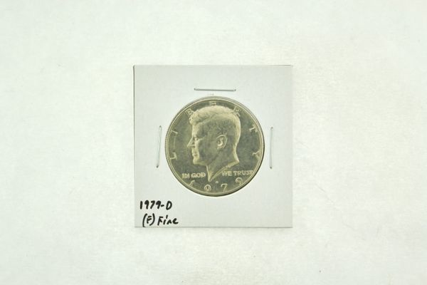 1979-D Kennedy Half Dollar (F) Fine N2-3725-2