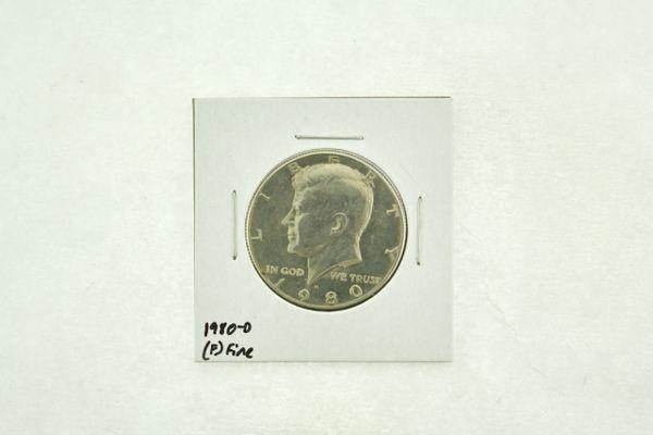 1980-D Kennedy Half Dollar (F) Fine N2-3728-2