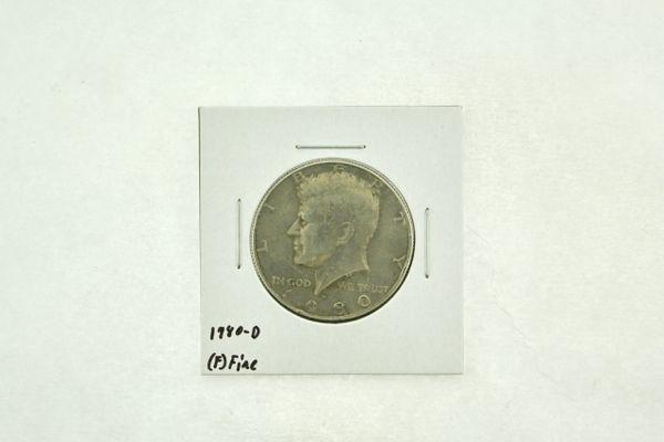 1980-D Kennedy Half Dollar (F) Fine N2-3728-3