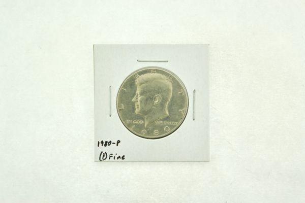 1980-P Kennedy Half Dollar (F) Fine N2-3731
