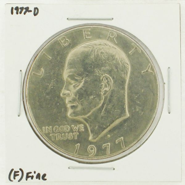 1977-D Eisenhower Dollar RATING: (F) Fine (N2-4209-01)