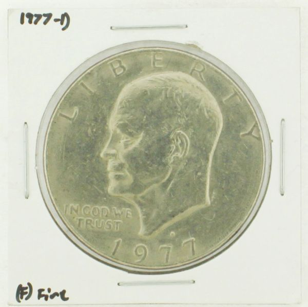 1977-D Eisenhower Dollar RATING: (F) Fine (N2-4209-02)
