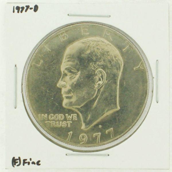 1977-D Eisenhower Dollar RATING: (F) Fine (N2-4209-04)
