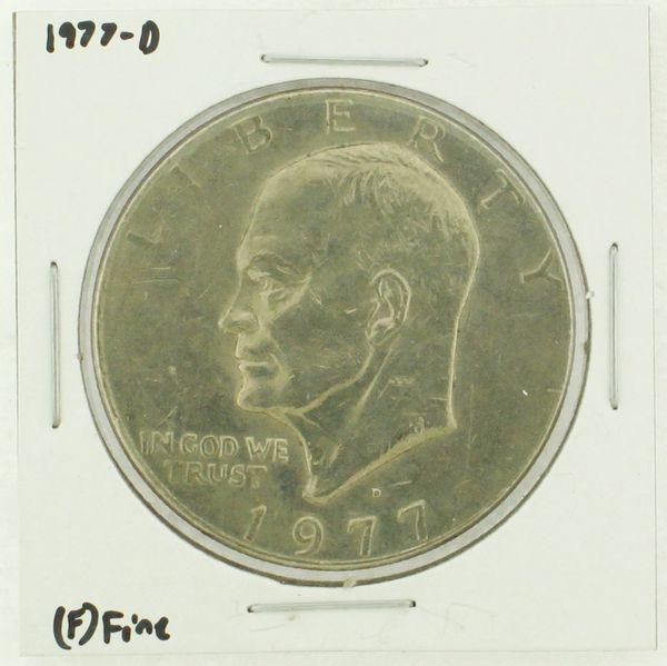1977-D Eisenhower Dollar RATING: (F) Fine (N2-4209-05)