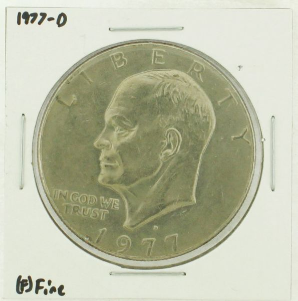 1977-D Eisenhower Dollar RATING: (F) Fine (N2-4209-07)