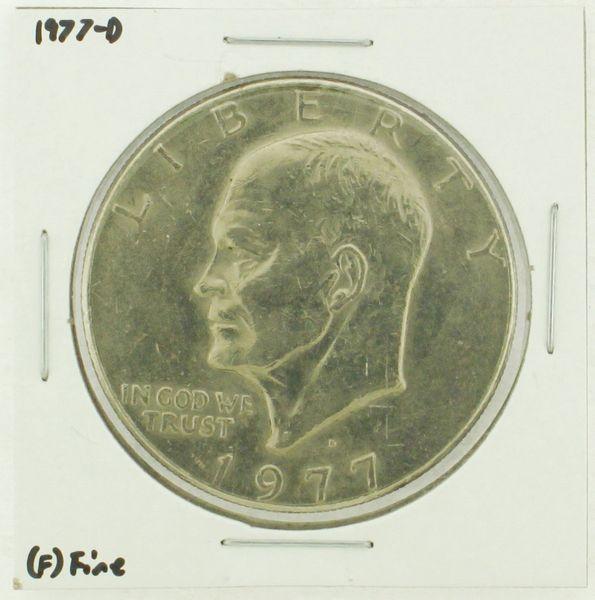1977-D Eisenhower Dollar RATING: (F) Fine (N2-4209-09)