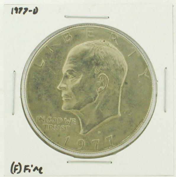 1977-D Eisenhower Dollar RATING: (F) Fine (N2-4209-10)