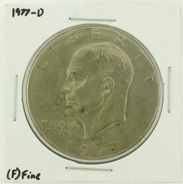 1977-D Eisenhower Dollar RATING: (F) Fine (N2-4209-11)