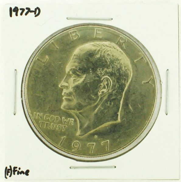 1977-D Eisenhower Dollar RATING: (F) Fine (N2-4209-13)