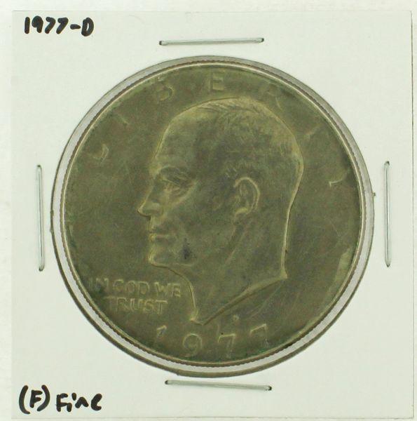 1977-D Eisenhower Dollar RATING: (F) Fine (N2-4209-14)