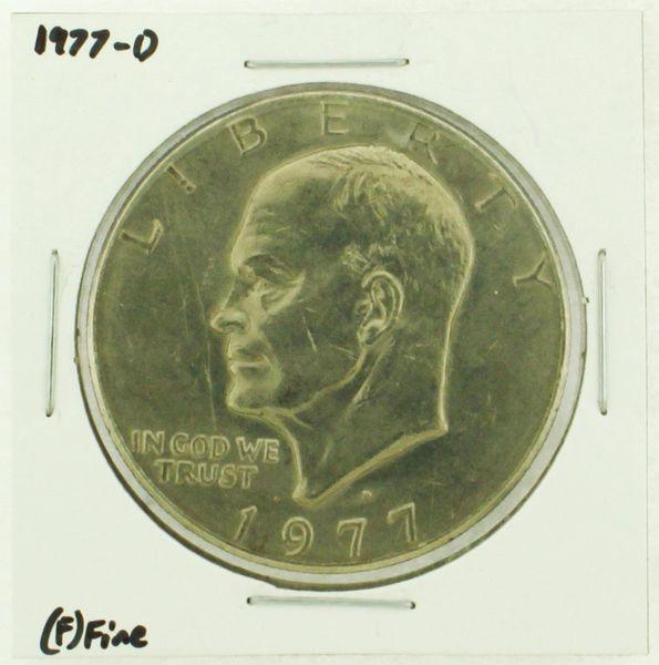 1977-D Eisenhower Dollar RATING: (F) Fine (N2-4209-15)