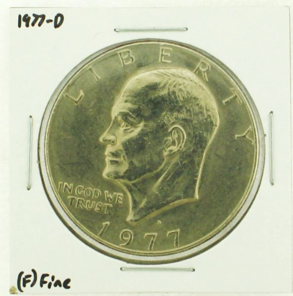 1977-D Eisenhower Dollar RATING: (F) Fine (N2-4209-16)