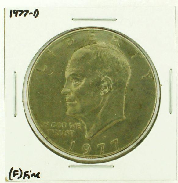 1977-D Eisenhower Dollar RATING: (F) Fine (N2-4209-17)