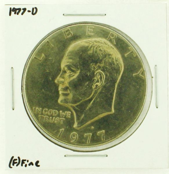 1977-D Eisenhower Dollar RATING: (F) Fine (N2-4209-18)
