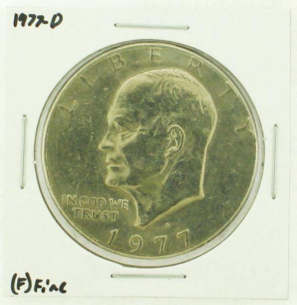 1977-D Eisenhower Dollar RATING: (F) Fine (N2-4209-19)