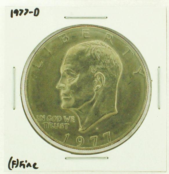 1977-D Eisenhower Dollar RATING: (F) Fine (N2-4209-20)