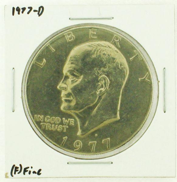 1977-D Eisenhower Dollar RATING: (F) Fine (N2-4209-21)