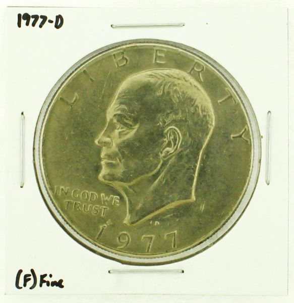 1977-D Eisenhower Dollar RATING: (F) Fine (N2-4209-22)