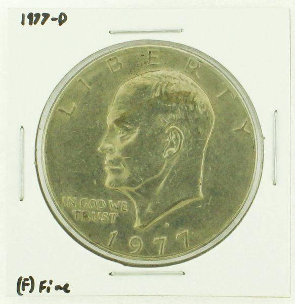 1977-D Eisenhower Dollar RATING: (F) Fine (N2-4209-24)