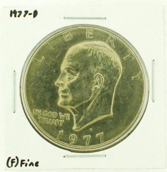 1977-D Eisenhower Dollar RATING: (F) Fine (N2-4209-25)