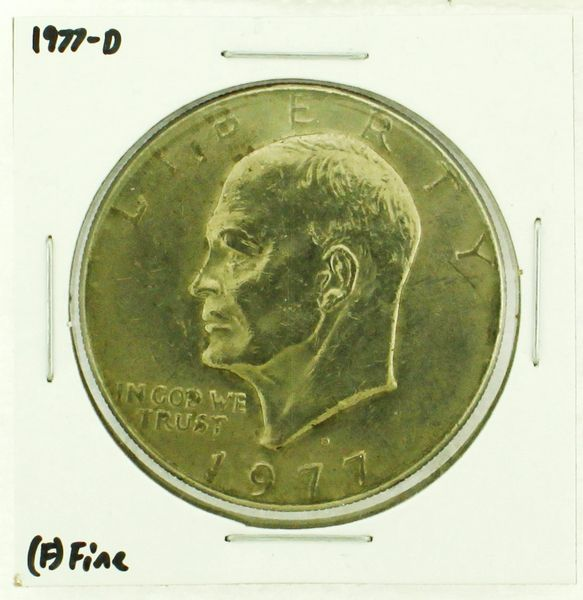 1977-D Eisenhower Dollar RATING: (F) Fine (N2-4209-26)