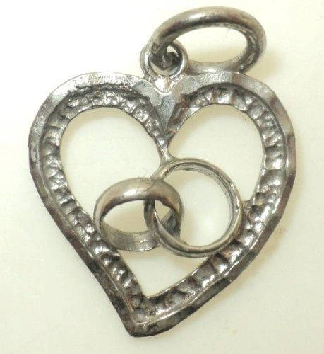 Heart with Swirl Charm (JC-711)