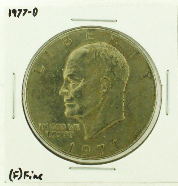 1977-D Eisenhower Dollar RATING: (F) Fine (N2-4209-29)