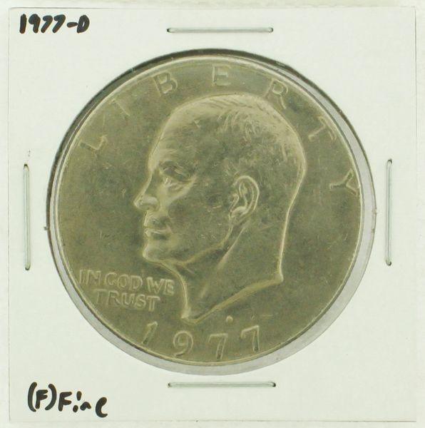1977-D Eisenhower Dollar RATING: (F) Fine (N2-4209-30)