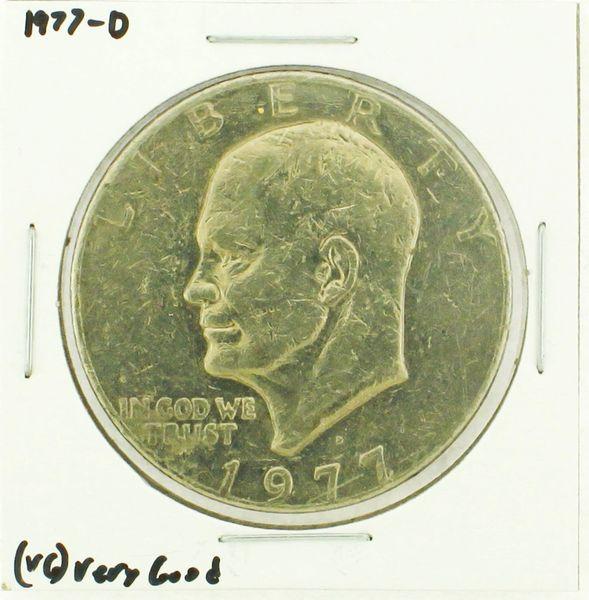 1977-D Eisenhower Dollar RATING: (VG) Very Good (N2-4239-2)