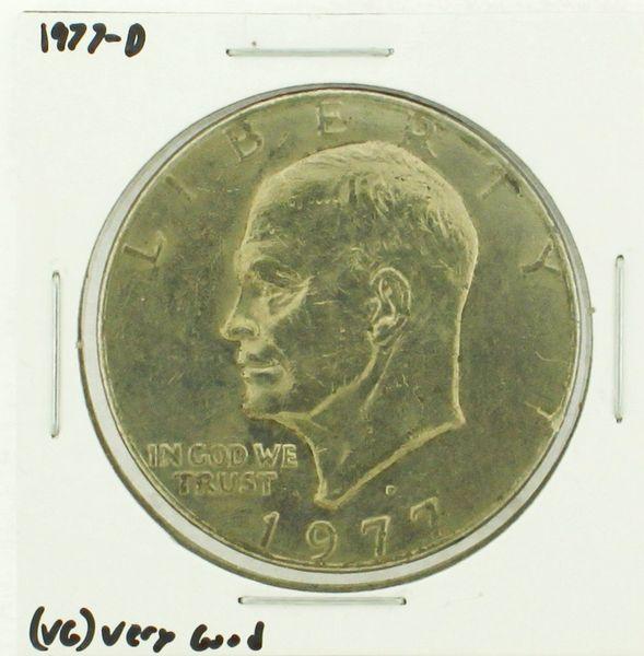 1977-D Eisenhower Dollar RATING: (VG) Very Good (N2-4239-3)