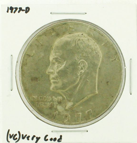 1977-D Eisenhower Dollar RATING: (VG) Very Good (N2-4239-4)