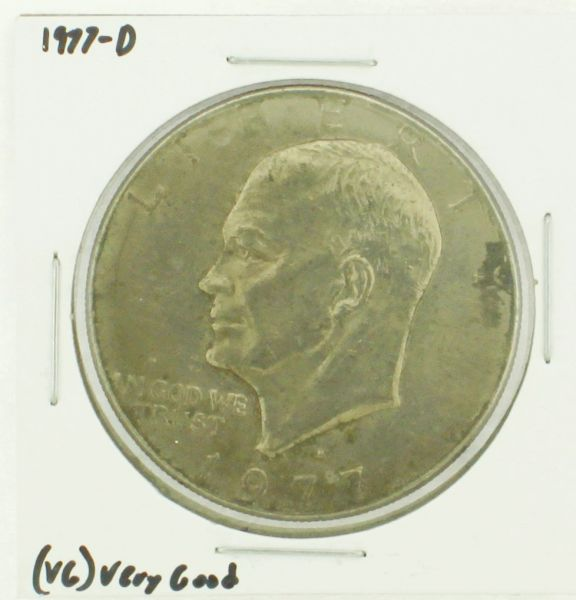 1977-D Eisenhower Dollar RATING: (VG) Very Good (N2-4239-5)
