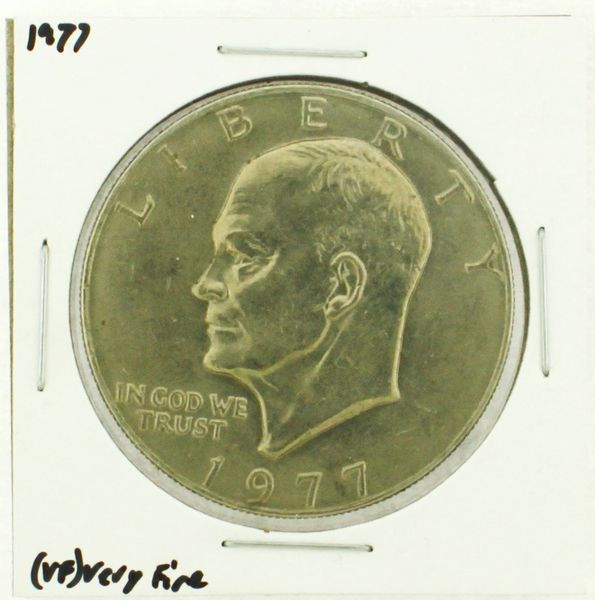 1977 Eisenhower Dollar RATING: (VF) Very Fine (N2-4244-2)