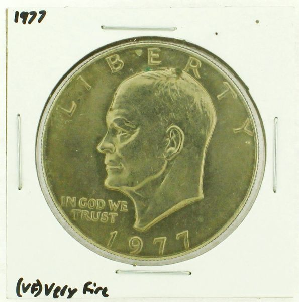 1977 Eisenhower Dollar RATING: (VF) Very Fine (N2-4244-5)