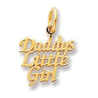 Daddy's Little Girl Charm (JC-728)