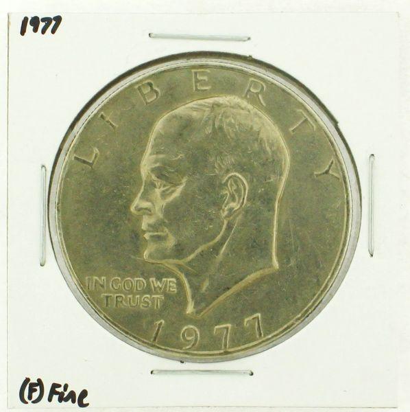 1977 Eisenhower Dollar RATING: (F) Fine (N2-4249-02)